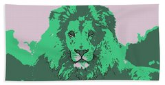 Green King Hand Towel