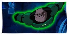 Green Lantern Corps Bath Towel