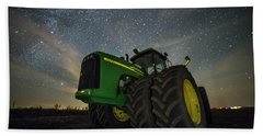 Bath Towel featuring the photograph Green Machine  by Aaron J Groen
