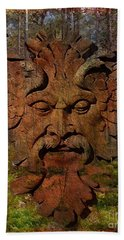 Green Man Of The Forest 2016 Hand Towel