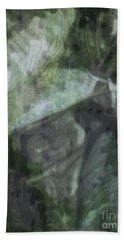 Green Mist Hand Towel by Kathie Chicoine