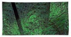 Green Reflection Hand Towel