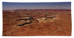 Hand Towel featuring the photograph Green River Overlook by Brenda Jacobs