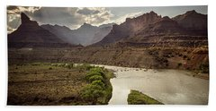Green River, Utah Bath Towel