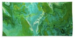 Green Waters Hand Towel