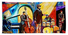 Gregory Porter And Band Bath Towel