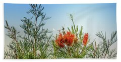 Grevillea With Moon Hand Towel