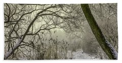 Bath Towel featuring the photograph Grey Day #h1 by Leif Sohlman