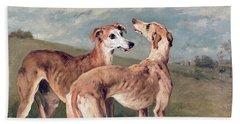Greyhounds Hand Towel