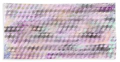 Grid Color Hand Towel