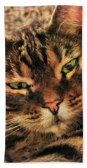 Griffin My Bengal Cat Hand Towel