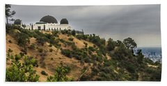 Griffith Park Observatory Hand Towel