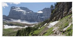 Grinnell Glacier Trail - Glacier National Park Bath Towel
