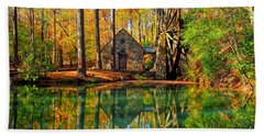 Hand Towel featuring the photograph Grist Mill by Geraldine DeBoer