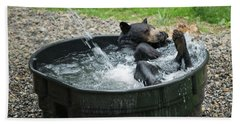 Grizzly Bathing Hand Towel