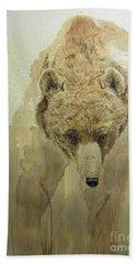 Grizzly Bear1 Bath Towel by Laurianna Taylor