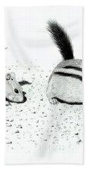 Ground Squirrels Bath Towel