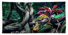 Grow Where You're Planted II Bath Towel by Patricia Griffin Brett