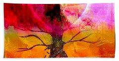 Growing Love Bath Towel by Fania Simon