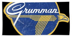 Grumman Est 1929 Distressed Hand Towel