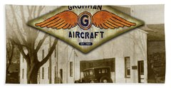 Grumman Wings Bath Towel