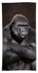 Grumpy Gorilla Bath Towel