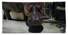 Grumpy Rhino Bath Towel