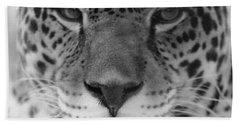 Grumpy Tiger  Hand Towel