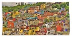 Guanajuato Hillside Bath Towel