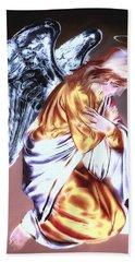 Guardian Angel Hand Towel by Pennie  McCracken