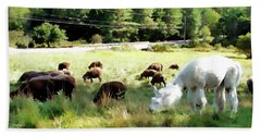Bath Towel featuring the photograph Guardian by Betsy Zimmerli