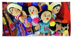Guatemalan Dolls Bath Towel