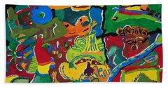 Guest Artist - Tyler James Thorpe Bath Towel