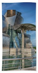 Guggenheim Museum Bilbao Spain Bath Towel by James Hammond