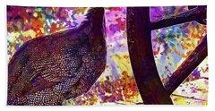 Guinea Fowl Guinea Fowl Chicken  Hand Towel