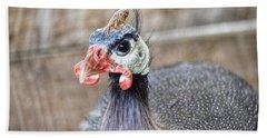 Guinea Fowl Hand Towel