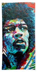 Guitar Legend Hand Towel