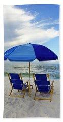 Gulf Coast Beach Oasis Hand Towel