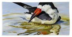 Gulf Coast Black Skimmer Bath Towel