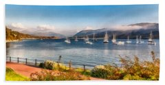Gulf Of  Ullapool      Bath Towel by Sergey Simanovsky