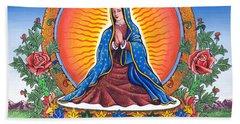 Guru Guadalupe Hand Towel