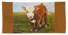 Gus, Cow Bath Towel