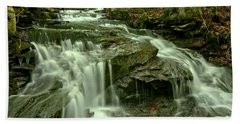 Gushing Through Forbes State Forest Hand Towel