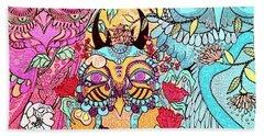 Gypsy Owl Hand Towel