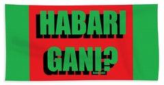 Habari Gani Bath Towel