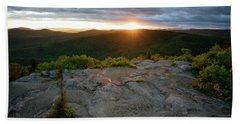 Hadley Mountain Sunset Bath Towel