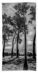 Hagley Park Treescape Bath Towel