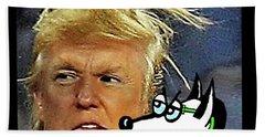 Hail  Emperor Trump...   Hand Towel