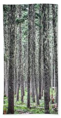 Hairy Forest Hand Towel