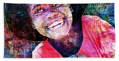 Haitian Daughter Hand Towel
